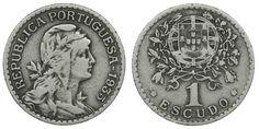 1 escudo de 1935