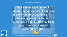 """social media comes the incredible ability to run ad campaigns and syndicate content,as well as build links across the web that give your site powerful social signals for a better Google ranking.  Visit right now👉""""Hit The Save Button & Follow Us""""   #socialmediaservices #buildyourbrand #sociallyin Social Media Services, Social Media Marketing, Digital Marketing, Build Your Brand, Ad Campaigns, Growing Your Business, Ads, Content, Button"""