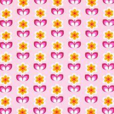 kankaita.com Cotton Whoopsy Daisy 1 - Puuvilla - roosa