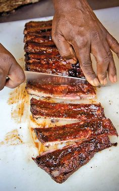 Best St. Louis Ribs Recipe (No one says you have to wait until Memorial Day for really, really good ribs. These ribs are among the best we've had, made with a rub of paprika, cayenne, and spice and a homemade barbecue sauce.)
