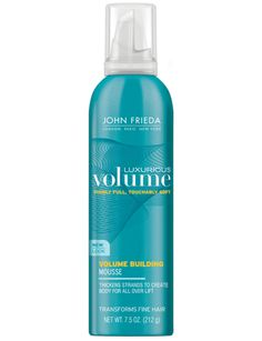 John Frieda Haircare Luxurious Volume Building Mousse, 212g product photo