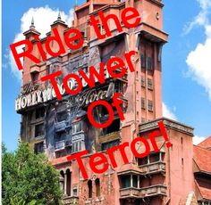 Ride the tower of terror! Great for all ages!! This free fall ride gives a little bit of extra spook, giving you an amazing rush every time!