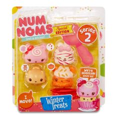 Num Noms Series 2 Scented 4-Pack - Winter Treats Pack (winter treats bags)