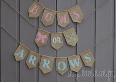 Bows or Arrows Gende