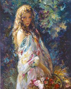 25 Beautiful Oil Paintings by Chinese Artist Guan ZeJu