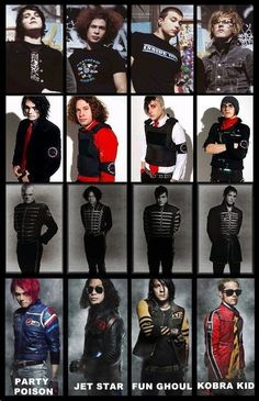 My Chemical Romance - 2002, 2004, 2006, 2010