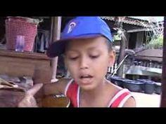 Karen boy sings lovely Thai song.