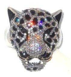 PANTHER Cuff Bracelet Swarovski Crystals  @eBay. #Jewelry #Deal #Fashion http://r.ebay.com/rqJgDy via @eBay