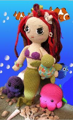 Little Mermaid pattern