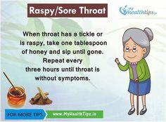 Raspy/Sore Throat