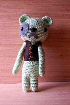 Amigurumi Gentleman Bear