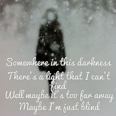 "-- #LyricArt for ""When I'm Gone"" by 3 Doors Down"