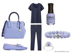 The Vivienne Files: Wearing Unflattering Colors: Purple The Vivienne, Purple Accents, Capsule Wardrobe, Amethyst, Navy Blue, Dressing, Wardrobes, Nifty, Lady