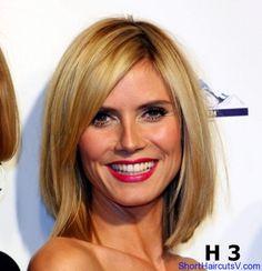 Heidi Klum short haircut is really beautiful