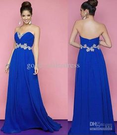 Dress - Prom dresses- Vintage and Long prom dresses