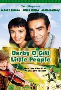Darby OGill and the Little People, with Sean Connery.  I watch it every St. Paddys Day... reminds me of childhood! :) ashburroughs