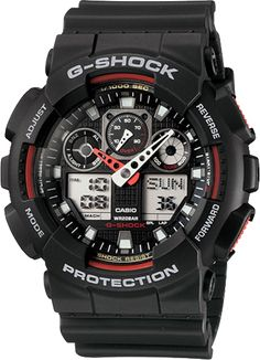 Shop men's and women's digital watches from G-SHOCK. G-SHOCK blends bold style with the most durable digital and analog-digital watches in the industry. Casio G-shock, Casio Gold, Casio Watch, G Shock Watches Mens, Men's Watches, Sport Watches, Cool Watches, Watches For Men, Jewelry Watches