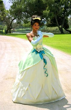 tiana lily pad dress
