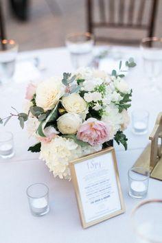 A Romantic Outdoor California Wedding from Jeremy Chou - wedding centerpiece idea