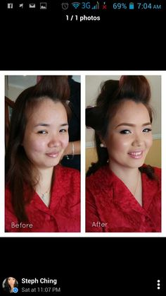 Another beautiful bride from yesterday -Malou. Make up by Senior Make Up Artist Steph Ching and Hairstyle by Caloy. She reminds us of Angelica Panganiban. Alrready beautiful and flawless. ;)  CJ Jimenez Make Up Team: 1. Exceptional Portfolio 2. Consistent, More than A Thousand, Unsolicited and Real Time Positive Clients Feedback 3. Numerous Credentials:  Pond's Beauty Ambassador (1 of only 16 HMUAs in the Philippines) Bridal Make Up Artist of the Year- Top Brands Most Sought After Supplier…