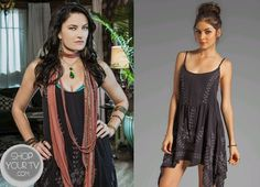 Shop Your Tv: Witches of East End: Season 1 Episode 3 Wendy's Black Embroidered Dress