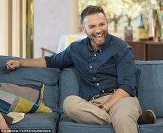 Matt Di Angelo has Christine Bleakley in stitches as he opens up about nude scene | Daily Mail Online
