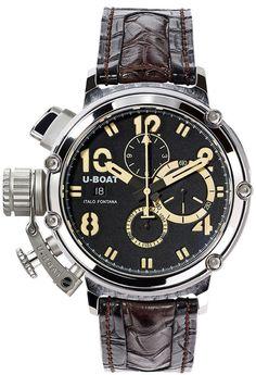 U-Boat Watch Chimera 48 925 Silver Limited Edition #bezel-fixed…