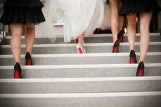 #zapatos de #novia y damas de honor