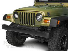 RedRock 4x4 Wrangler Angry Eyes Headlight Conversion J100734 (97-06 Wrangler TJ) - Free Shipping