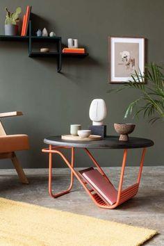 WAVE stolik kawowy w stylu bauhaus polski design Mebloscenka Bauhaus, Cafe Tables, Furniture, Home Decor, Design, Coffee Tables, Decoration Home, Room Decor