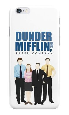 Our The Office Cartoon - Dunder Mifflin Phone Case is available online now for just £5.99.    Fan of The Office? You'll love our The Office Cartoon - Dunder Mifflin phone case, available for iPhone, iPod & Samsung models.    Material: Plastic, Production Method: Printed, Authenticity: Unofficial, Weight: 28g, Thickness: 12mm, Colour Sides: White, Compatible With: iPhone 4/4s | iPhone 5/5s/SE | iPhone 5c | iPhone 6/6s | iPhone 7 | iPod 4th/5th Generation | Galaxy S4 | Galaxy S5 | Galaxy S6 |