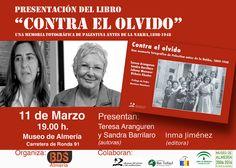 #PresentacionLibro | Contra el olvido. Una memoria fotográfica antes de la Nakba. Viernes 11/19:00 h. #BDSAlmeria