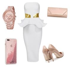 """""""White Party 🎉 Outfit xx"""" by milliebeth84 on Polyvore featuring Rupert Sanderson and Dorothy Perkins"""