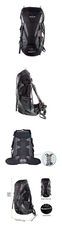 Other Camping Hiking Backpacks 36109: Wasing 65L Internal Frame Backpack For Outdoor Hiking Travel Climbing Camping. -> BUY IT NOW ONLY: $36.84 on eBay!