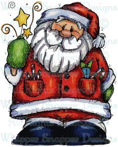 MY802 //\\//\\ Magical Santa -  Item Number: #MY802
