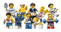 LEGO Celebrates London 2012 with Olympic Minifigs    What can I say, I LOVE Legos. Should you require accommodation in South Africa. Quote & Book: http://www.south-african-hotels.com/