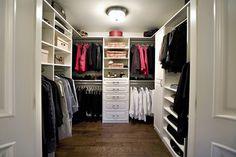 Wonderful Closet Design for Your Room: Simple White Walk In Closet ~ urbanbedougirl.com Furniture Inspiration