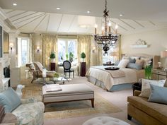 10 Divine Master Bedrooms by Candice Olson | Bedroom Decorating Ideas for Master, Kids, Guest, Nursery | HGTV