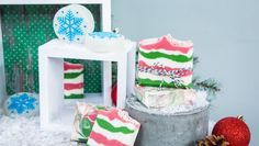Stuff Christmas stockings with DIY Peppermint Candy Bath Bombs to delight your Countdown to Christmas Watch Party guests! Home And Family Crafts, Home And Family Hallmark, Crafts For Kids, Christmas Countdown, Christmas Crafts, Family Christmas, Christmas 2019, Christmas Decorations, Christmas Bath Bombs