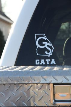 Georgia Southern Car Decal GS GATA by SouthernMamaDesign on Etsy, $7.50