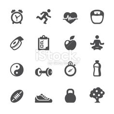 Soulico - Healthy Lifestyle Royalty Free Stock Vector Art Illustration