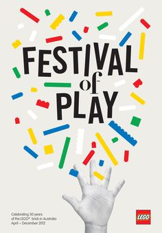 Lego Festival of Play poster