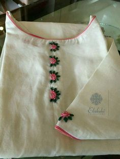 16 Best Designer Kurti Images Blouse Designs Embroidery Hand