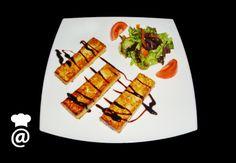 Receta de Tofu con salsa de soja