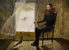 Andrea Kowch - The Pheasant Keeper - Limited Edition Signed Print Limited Edition Signed Print | 1stdibs.com