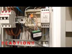 Installing a Fibaro Relay Switch FGS-212 for use with PulseStation and I...