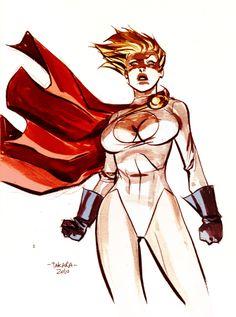 Cartoon power girl gorilla xxx