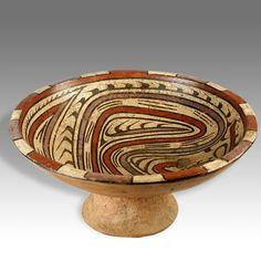 Coclé frutero or pedestal bowl