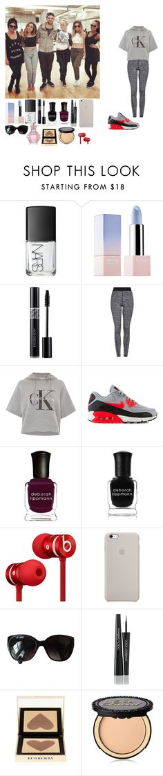 """""""Sans titre #315"""" by rosemie ❤ liked on Polyvore featuring NARS Cosmetics, Sephora Collection, Christian Dior, Topshop, Calvin Klein, NIKE, Deborah Lippmann, Beats by Dr. Dre, Chanel and Dolce&Gabbana"""