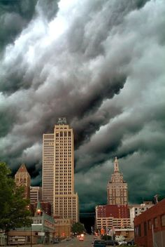 Storm Over Downtown Tulsa, OK